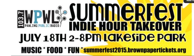 ppr - Don't Miss WPWL's Summerfest 2015! _ Pawling Public Radio